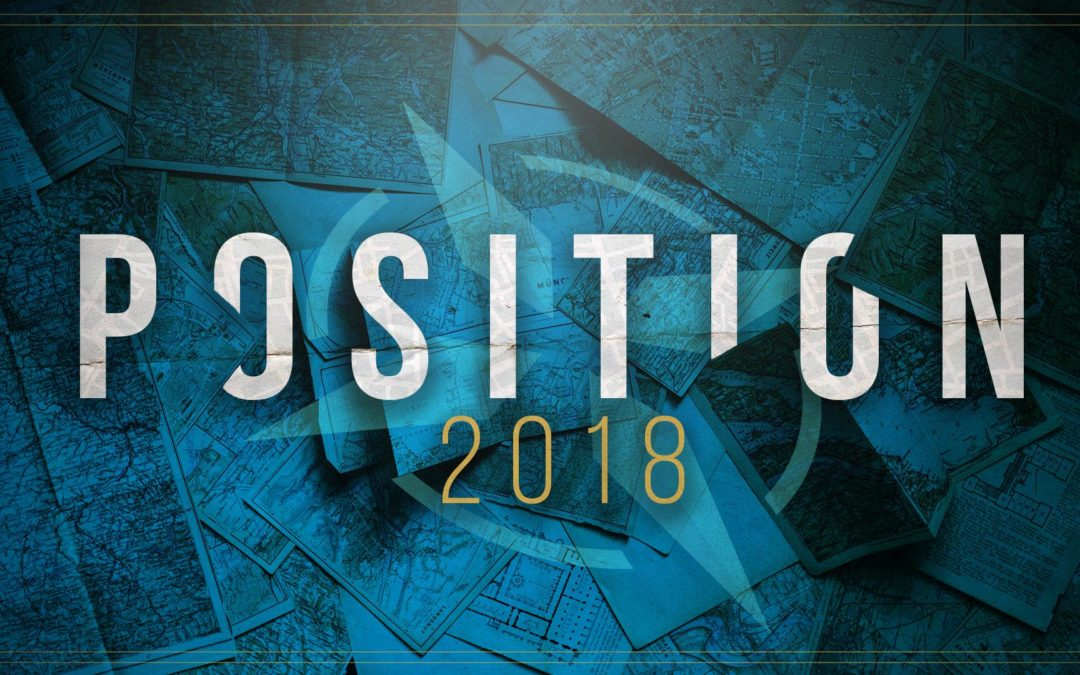 """Position Yourself 2018 – """"By This TimeNext Year"""