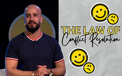 The Law of Conflict Resolution | Moses Khan