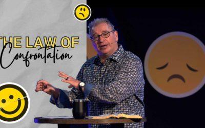 The Law of Confrontation   Tony Soldano