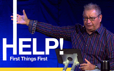 First Things First | Tony Soldano