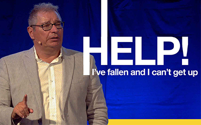Help! I've Fallen and I Can't Get Up | Tony Soldano